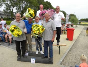 Winnaars Bedrijventoernooi Jeu de Boules, Hoogenraad en van Tent