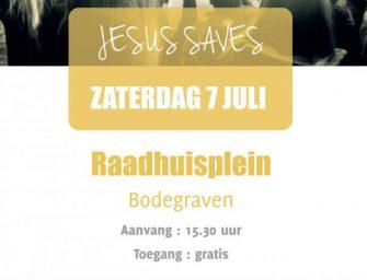 Praise Outside 7 juli op Raadhuisplein