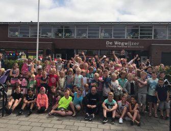 Sponsoractie Basisschool de Wegwijzer groot succes!