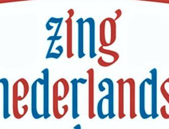 Eerste editie 'Zing Nederlands Met Me'