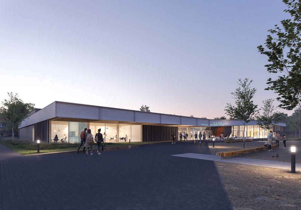 Video eerste ontwerp nieuw zwembad in bodegraven gepresenteerd