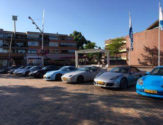 VD Gugten Porsche Service maakt uitstapje met klanten
