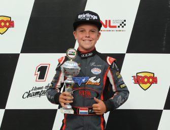 Talentvolle karter Tristan Kroone weer een stapje dichter bij WK in Le Mans