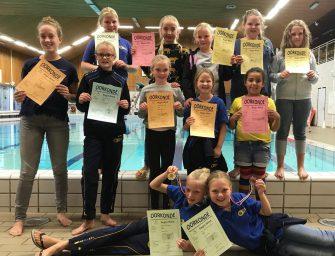 Goud en brons voor synchroonzwemsters BZ&PC