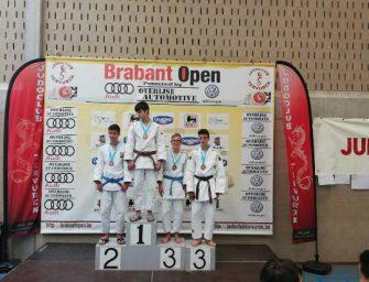 Judoka Storm van Dijk van Goederaad levert mooie prestatie