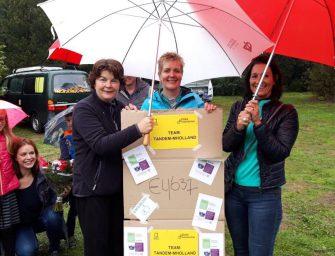 Team Tandem fietst voor Alzheimer Nederland