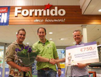 Scouting Bolaro wint € 750,- bij lokale actie van Formido Bodegraven