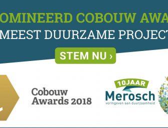 Bodegraafs kantoor genomineerd voor Cobouw Award