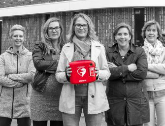 AED crowdfunding in Weideveld Bodegraven