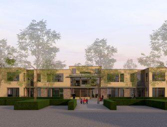 Feestelijke paal Verhoeff-Rollmanschool in Bodegraven