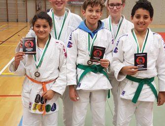 Druk Judo-weekend met prijzen voor Sportschool Goederaad