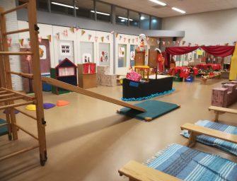 IKC Schatrijk is klaar voor Sinterklaas