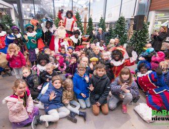 Sinterklaas bezoekt Vromade en Rijnhoek Plaza