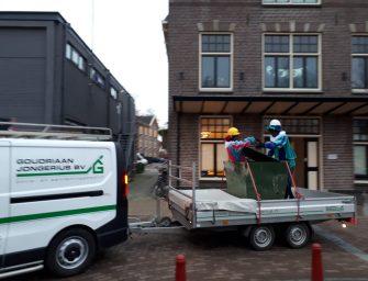 Sinterklaas op Verhoeff Rollmanschool in Bodegraven
