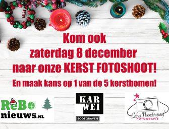 Kom naar onze Kerst fotoshoot bij Karwei Bodegraven