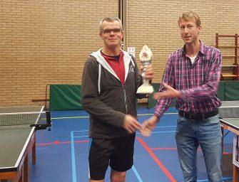 Van der Laan clubkampioen 2018 TTV Reeuwijk