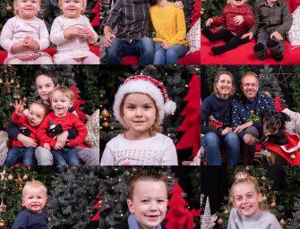 Geslaagde kerstshoot en blije winnaars bij Karwei