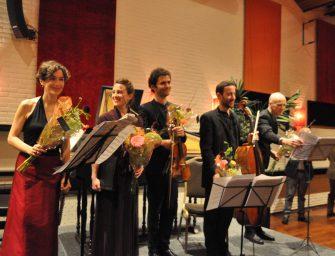 Juliette Hurel laat Bach zingen in Reeuwijk