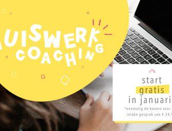 Een maand lang gratis huiswerk coaching bij Een Stap Wijzer