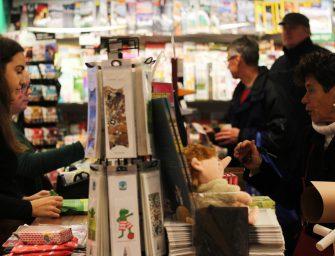Forse Sinterklaas-drukte bij winkels