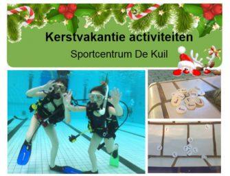 Leuke kerstvakantie activiteiten bij Sportcentrum De Kuil