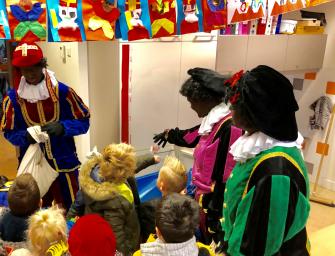 Sinterklaasviering op de Willibrordschool