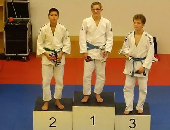Mooie overwinning voor judo-er Storm van Dijk