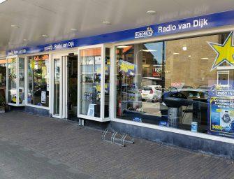 Electro World van Dijk nieuwe naam Radio van Dijk in Reeuwijk