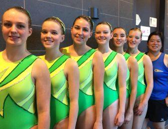 NK Senioren en Masters synchroonzwemmen
