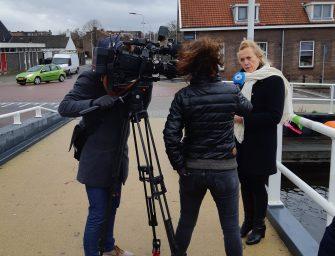 Actie behoud fietspad in Reeuwijk te zien bij Hart van Nederland