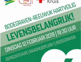 Bodegraven-Reeuwijk hartveilig – Levensbelangrijk