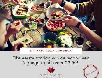 Italiaanse lunch bij Nonsolovino in Reeuwijk