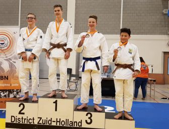 Judoka Storm van Dijk verovert plek voor NK Judo in Leek