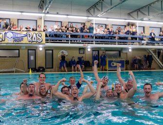 Waterpoloheren na kampioenschap terug op een-na-hoogste niveau van Nederland
