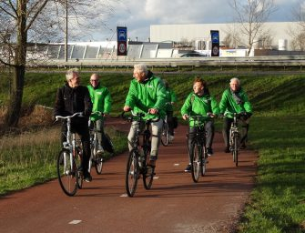 Bezoek GroenLinks Lijsttrekker Provinciale Staten verkiezingen