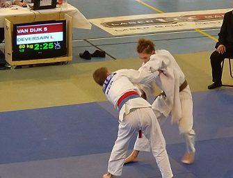 Internationaal podium voor judoka Storm van Dijk