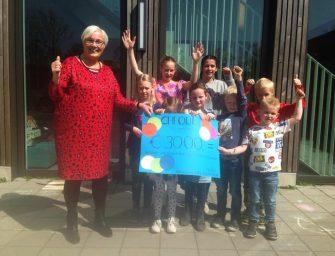 Leerlingen Pr. Beatrixschool lopen 3000 euro bij elkaar