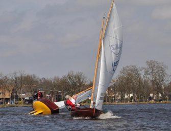 Paashaas zeilwedstrijden in Reeuwijk