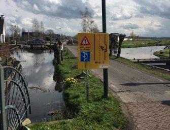 Onderhoud bermen Nieuwdorperweg in Reeuwijk
