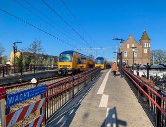 Week lang in februari geen treinen richting Leiden Centraal
