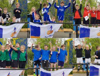 Veel winnaars op het Schoolkorfbaltoernooi