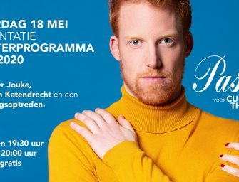 Seizoenspresentatie Theaterprogramma 2019/2020 EVERTSHUIS