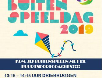 Nationale buitenspeeldag 2019
