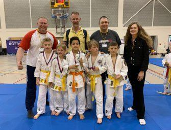 Jongens judoteam kampioen in district