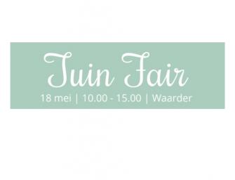 Eerste editie Tuinfair in Waarder