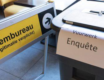 Verkiezingen gecombineerd met enquête over vuurwerk