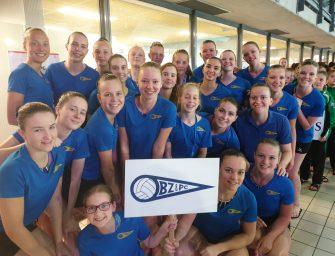 Synchroonzwemsters BZ&PC zwemmen op de Synchrobeat en NK Vrije Combinatie