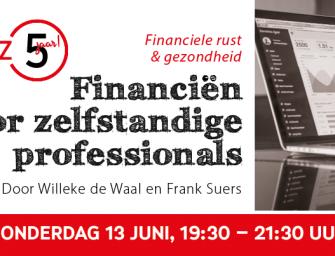 Workshop Financiën voor zelfstandige professionals
