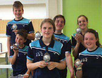 BBS Bodegraafse badminton club jeugdleden kampioen