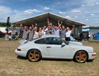 VD Gugten Porsche wint weer!